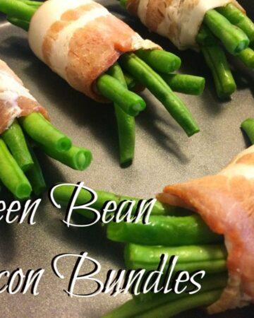 Green Bean Bacon Bundles   In Mama Maggie's Kitchen