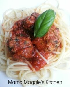Recipes for Kids: Sneaky Veggie Spaghetti and Meatballs
