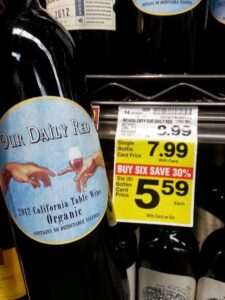Organic Wines Under $10