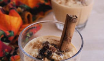Pumpkin Arroz Con Leche + VIDEO