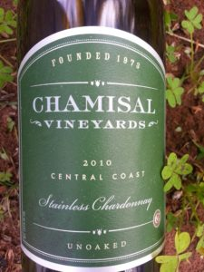 Chamisal Chardonnay 2010 | In Mama Maggie's Kitchen