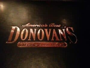 Happy Hour at Donovan's Steakhouse Gaslamp