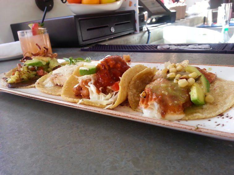 "tacos at Puesto The ""Baja"" taco well seasoned"