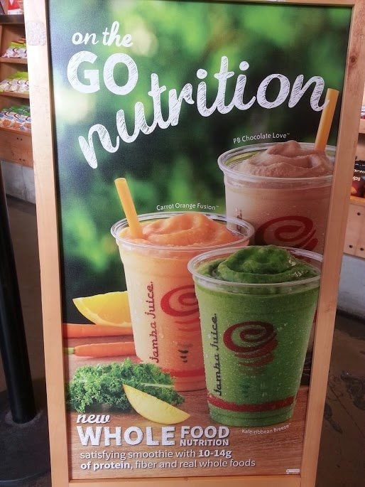 Go Nutrition poster