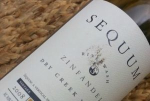 Sequum Riverwash 2008 Zinfandel
