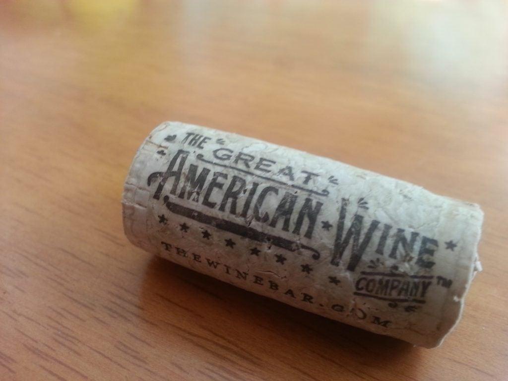 The Great American Wine Company Chardonnay 2012