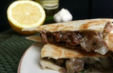 Chimichurri Quesadillas