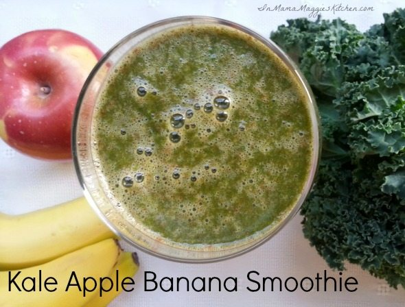 Kale Apple Banana Smoothie