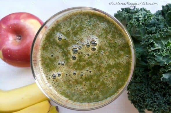 Kale Apple Banana Smoothie and Prenatal Care