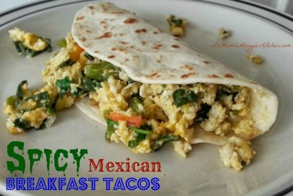 Spicy Mexican Breakfast TacosMexican Breakfast Tacos