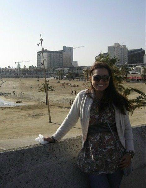 Maggie Unzueta in Barcelona