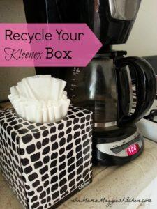 Recycle Your Kleenex Box