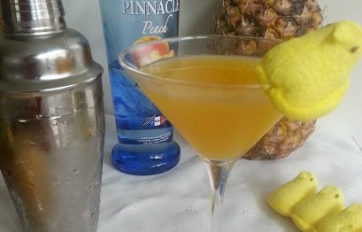 Pineapple Peach Mango Martini