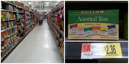 Shopping at Walmart assorted tortillas box and price