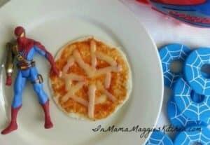 Spider Pizza | In Mama Maggie's Kitchen