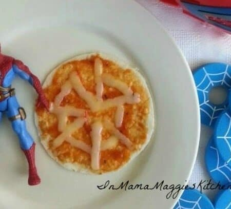 Spider Pizza | In Mama Maggie's Kitchen