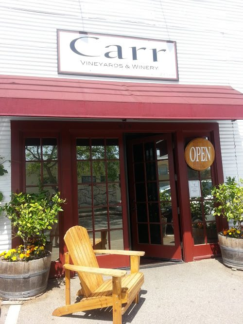 Carr Winery upfront