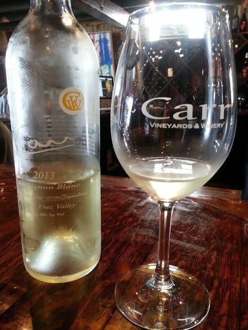 Carr Winery Sauvignon Blanc