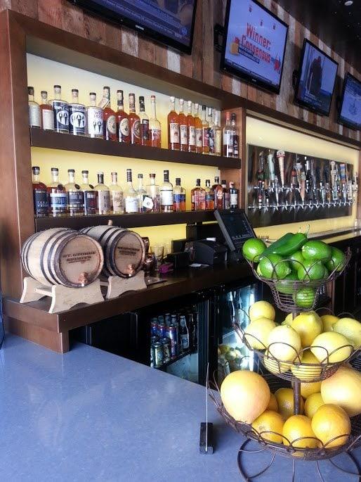 Bar at Paseo Nuevo Shopping Are