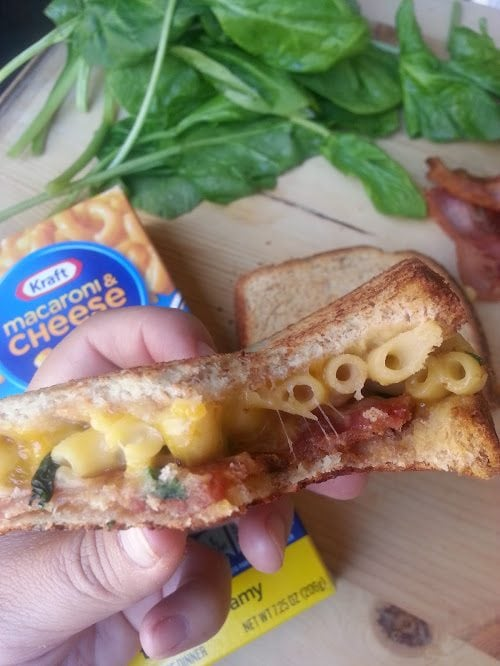 Grilled Bacon Mac n Cheese