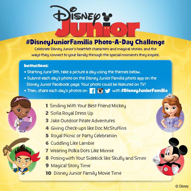 Disney Junior Photo A- Day Challenge