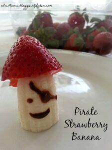 Strawberry Banana Pirate | In Mama Maggie's Kitchen