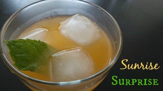 Sunrise Surprise drink