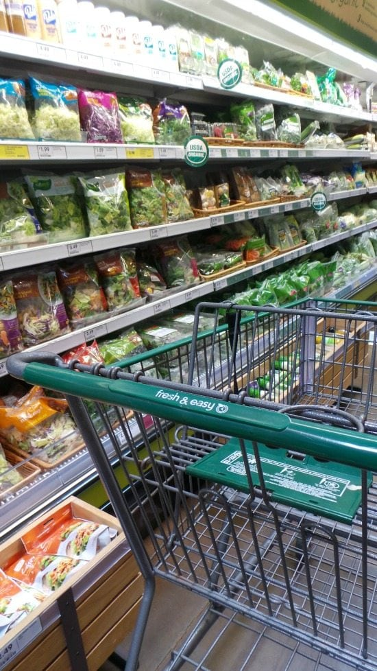 salad aisle