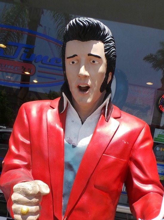 Elvis at Moo Time