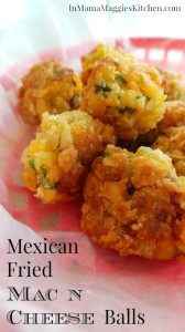 Mexican Fried Mac n Cheese Balls