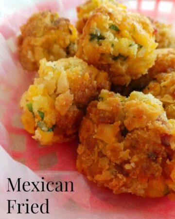 Mexican Fried Mac n Cheese Balls