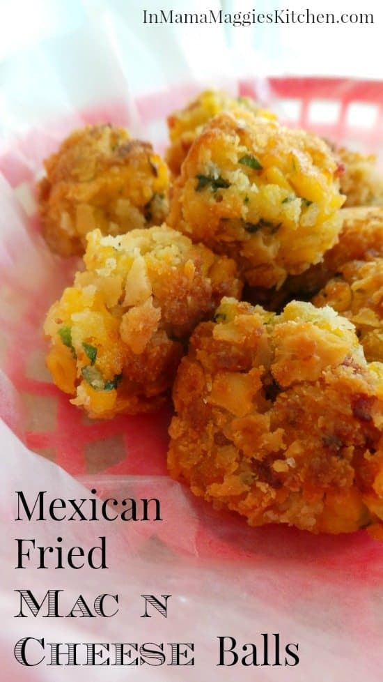 Cheap Party Food: Mexican Fried Mac and Cheese