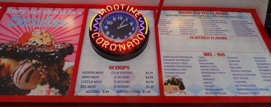 Moo Time in Coronado