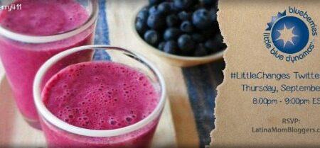 Blueberry #LittleChanges