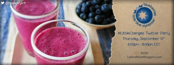 U.S. Highbush Blueberry Council #LittleChanges Twitter Party