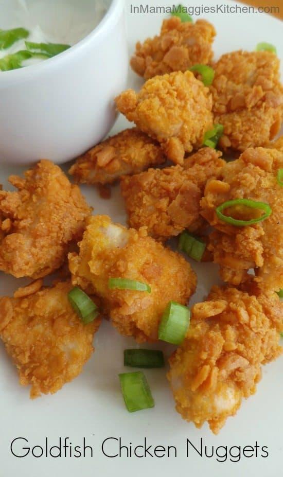 Goldfish Chicken Nuggets In Mama Maggie's Kitchen
