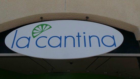 La Cantina at Loews Coronado sign