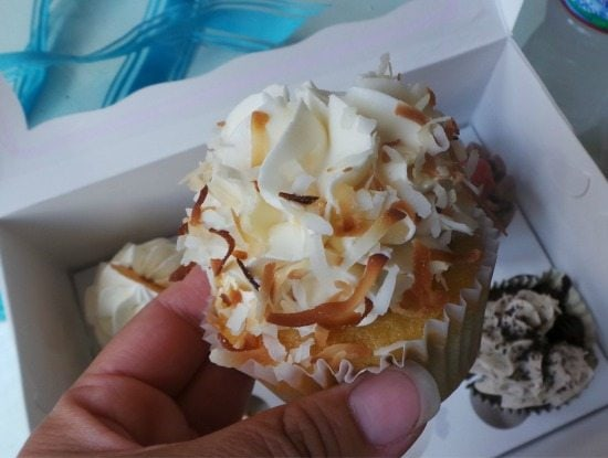 Toasted Coconut Cupcake at Frost Me Cupcakes | In Mama Maggie's Kitchen