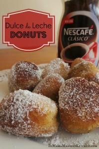 Dulce de Leche Donuts | In Mama Maggie's Kitchen