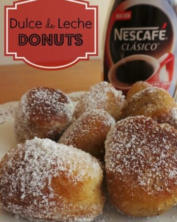 Dulce de Leche Donuts - delicious little bites of yummy goodness that are easy-to-make and big time crowd pleaser. by Mama Maggie's Kitchen