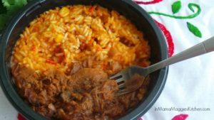 Herdez Beef Barbacoa Bowl | In Mama Maggie's Kitchen