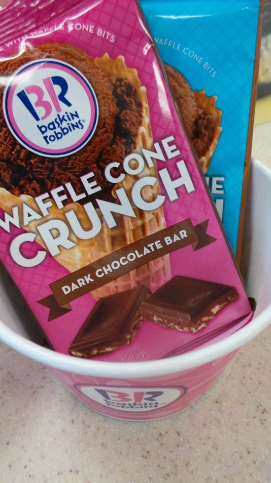 Waffle Cone Crunch at Baskin Robbins | In Mama Maggie's Kitchen