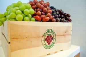 California Grapes Demo with Chef Marcela Valladolid
