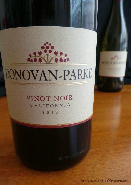 Dovovan Parke Pinot Noir 2013   In Mama Maggie's Kitchen