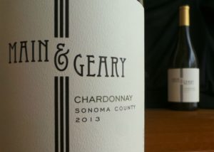 Main and Geary Chardonnay 2013