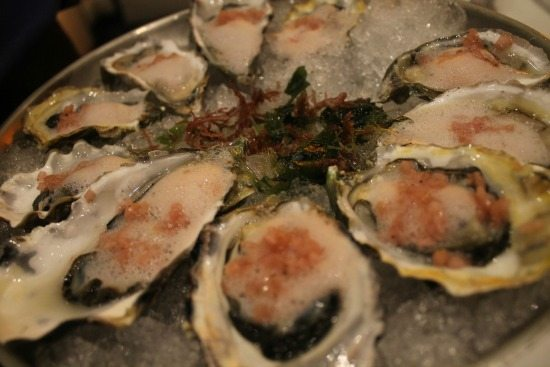 Oysters on the Half Shelf at Stake