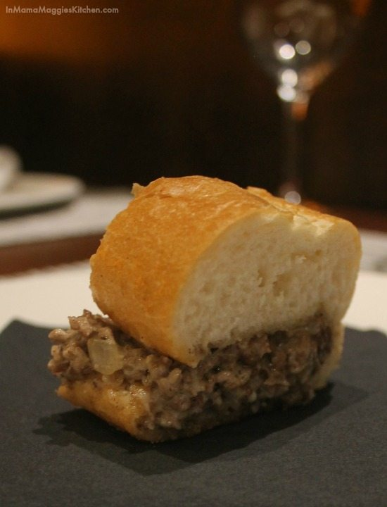 Steak Sandwich at Stake in Coronado