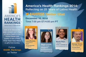 America's Health Rankings 2014  #AHR25 Twitter Party