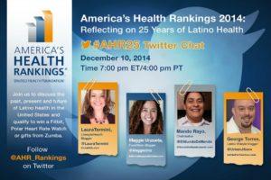 America's Health Rankings 2014  #AHR25 Twitter Party