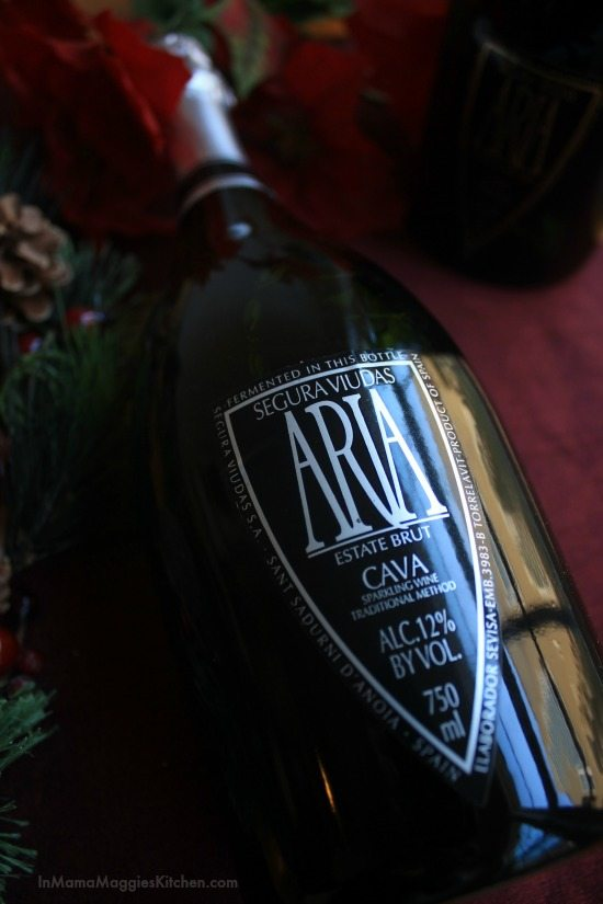 Segura Viudas Aria Estate Brut Cava | In Mama Maggie's Kitchen